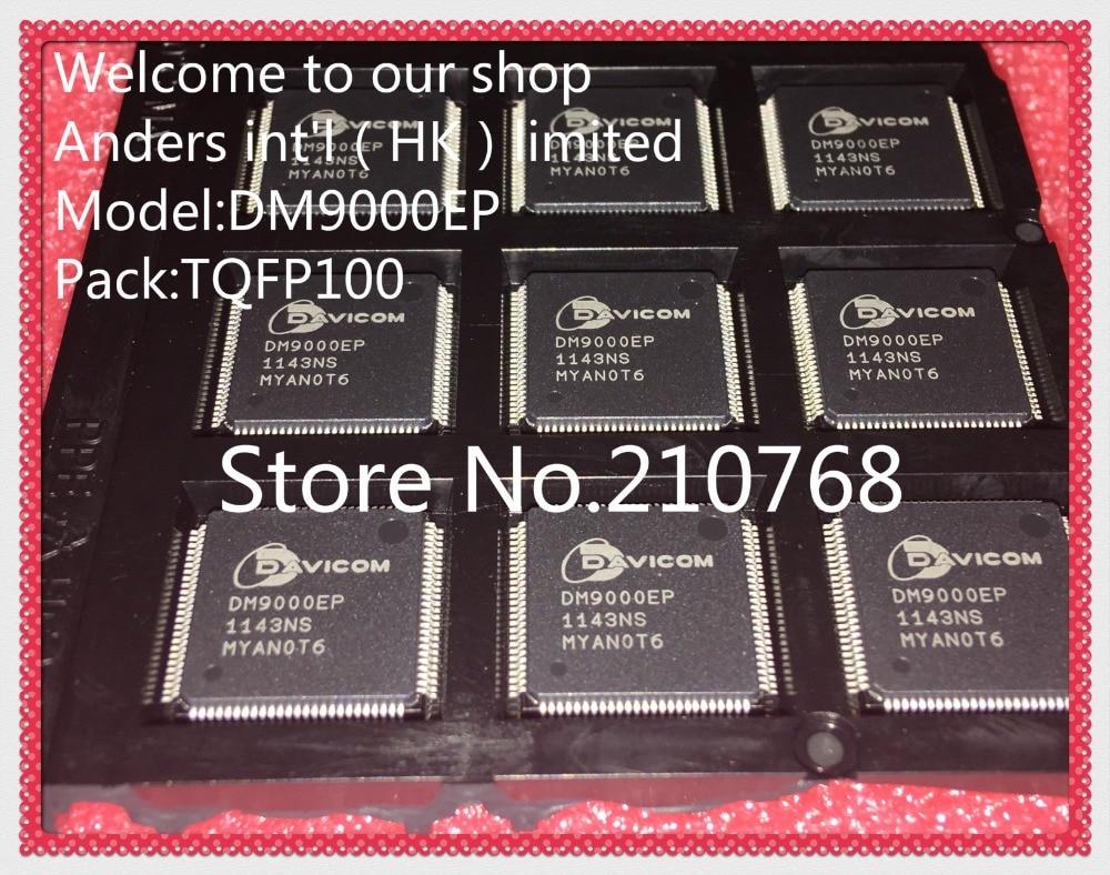 10 pçs/lote DM9000EP DM9000 LQFP100