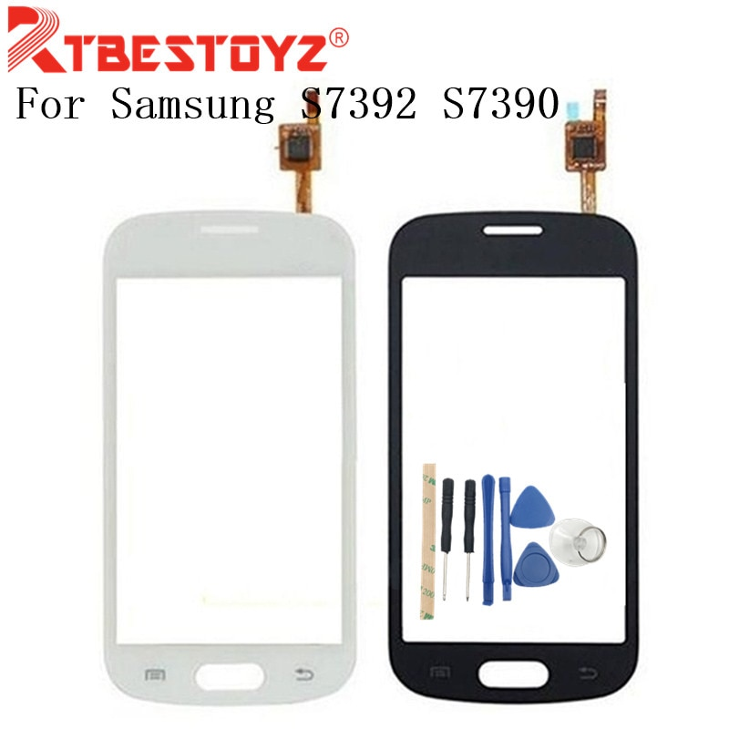 Digitalizador de pantalla táctil RTBESTOYZ de 4,0 pulgadas para Samsung Galaxy TREND S7392 S7390