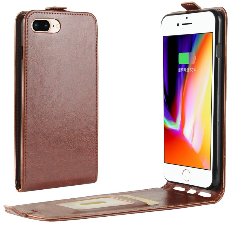Retro Leather Cover case for Apple iphone 7 4.7