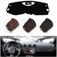 console dashboard suede mat protector sunshield cover fit for audi tts 2003 2008