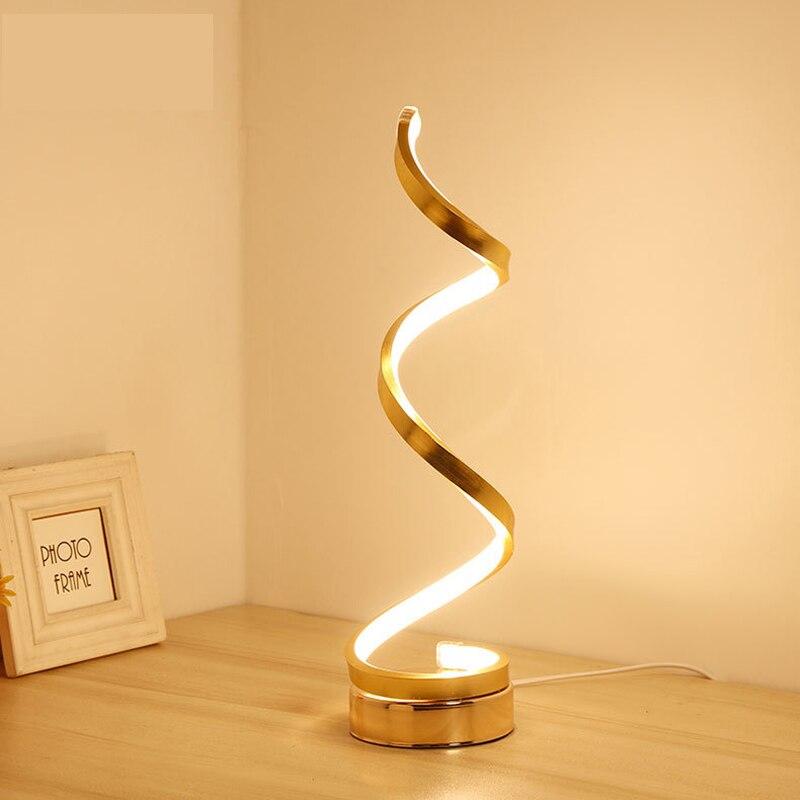 Modernas lámparas led de escritorio para dormitorio, lámparas de mesa de matrimonio, regalo artístico y la Oficina para el trabajo, decoración de moda, luz de escritorio wl3301429