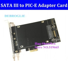 Adaptateur SSD haute vitesse SATA III vers PCIE avec port SATA III pour MAC PRO 08-12/OSX 10.8-10.14/MP3.1-5.1