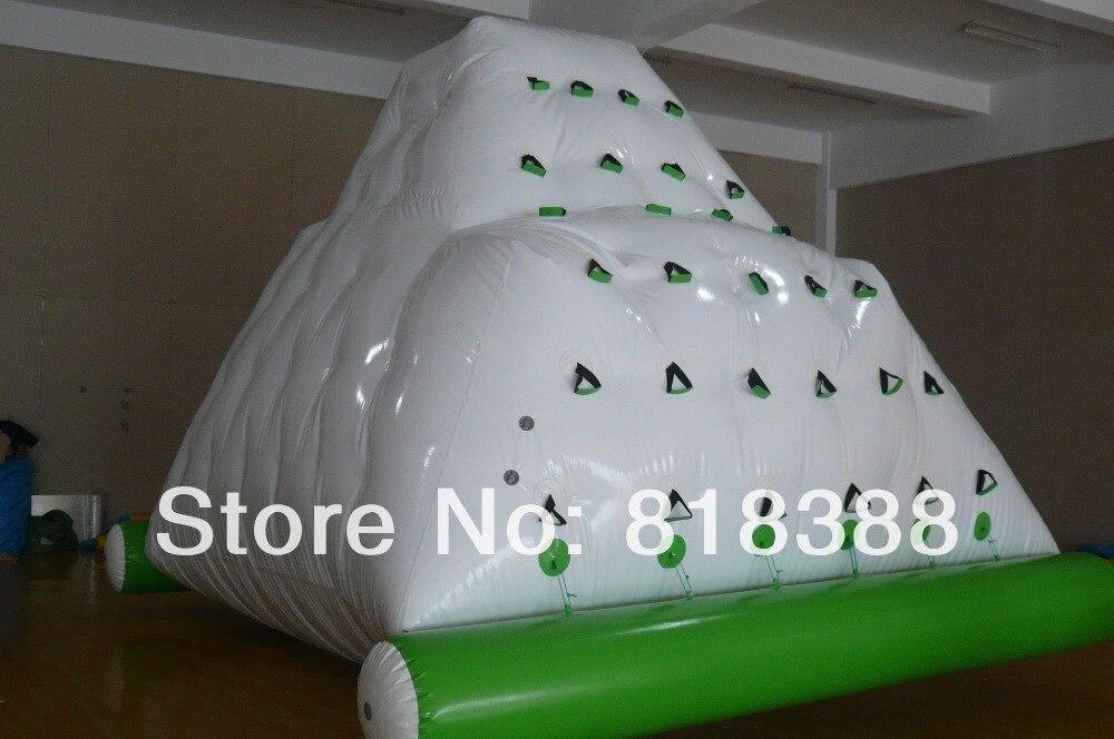 Juego de parque acuático inflable/iceberg acuático/escalada inflable