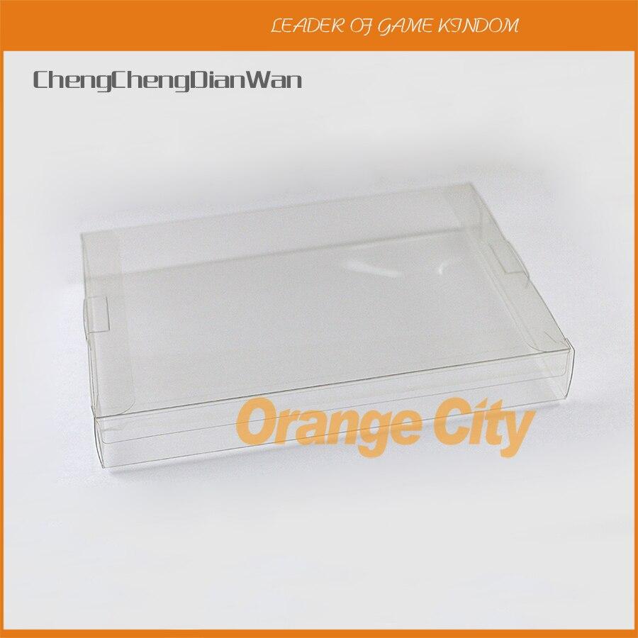 ChengChengDianWan прозрачный чехол 8-битный пластиковый защитный чехол для домашних животных игровая коробка CIB игры 1 шт для NES 18*13*2,4 см