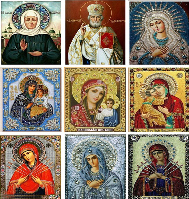 Новый 30*40 см DIY 5D алмаз вышивка Кристалл Религия Алмазная мозаика живопись