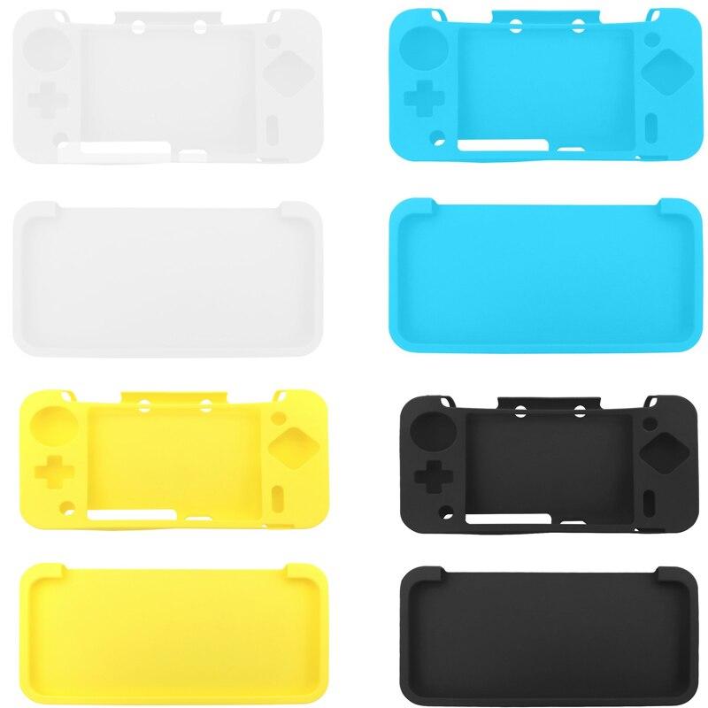 Funda blanda de goma de Gel de silicona duradera, Fundas protectoras para Nintendo NEW 2DS XL NEW 2DS LL Protector de consola