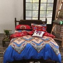 UNIKEA New Mandala Reversible Bedding Set 3/4 Pcs Bohemia Exotic (Duvet Cover + Bed Flat Sheet + Pillow Sham) Twin Full Queen Ki