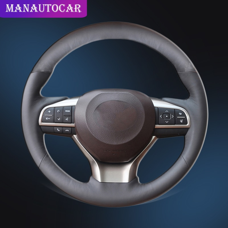 Coche trenza en la cubierta de volante para Lexus ES200 ES300 2015-2017 ES300h 2016, 2017 de 2018 ES350 2016 de 2017 a 2018