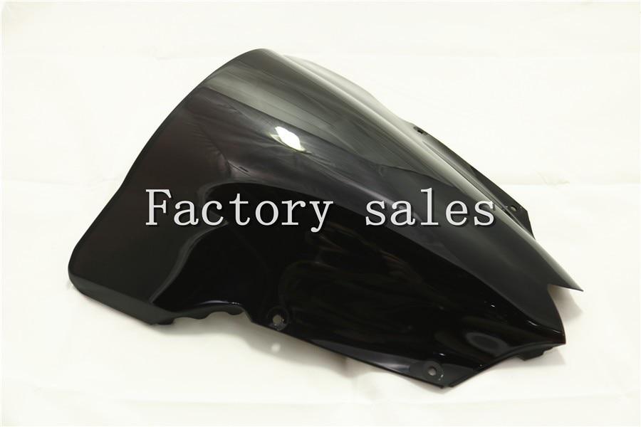 Лобовое стекло для Yamaha YZF 600 R6 2008 2009 2010 2011 2012 2013 2014 2015 2016 Double Bubble 08 09 10 11 CC RR YZFR6