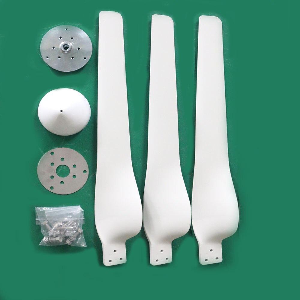 FLTXNY nuevas cuchillas de forma para turbina eólica horizontal, 500w 600w 800w 1000w accesorios de generador de viento Venta de fábrica de cuchillas DIY