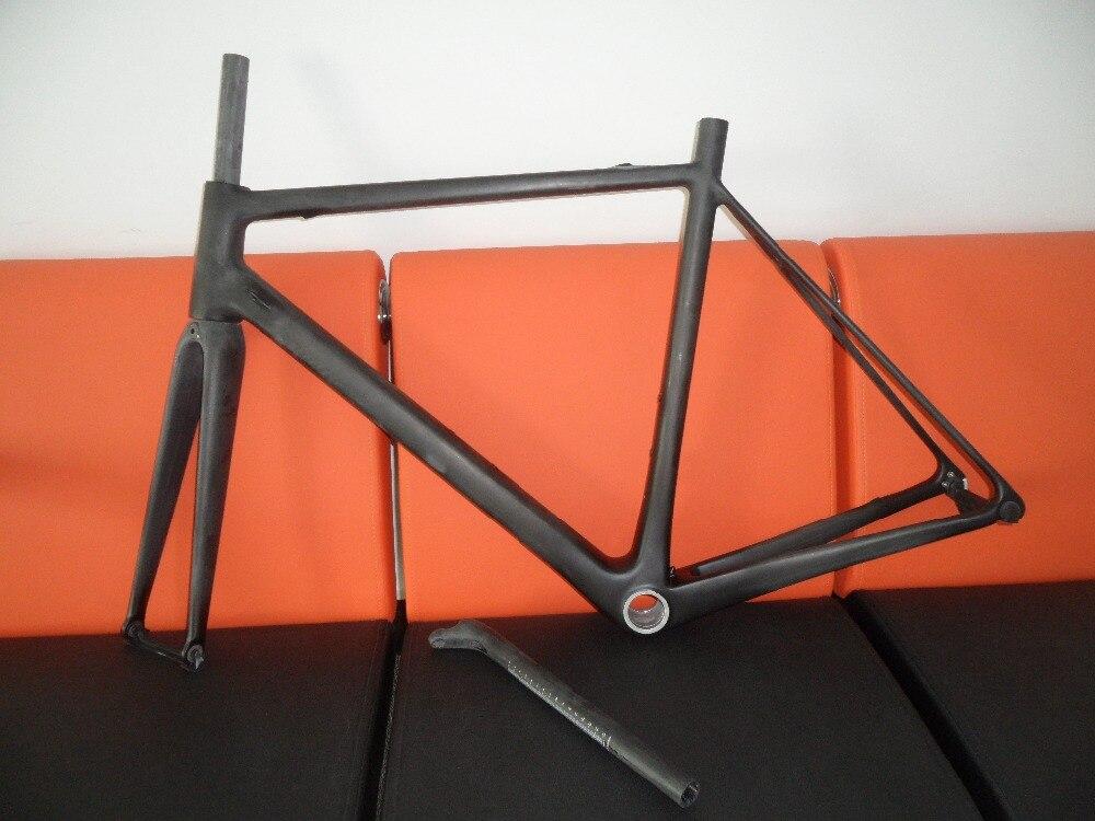 Gran promoción, bicicleta de carretera ultraliviana de carbono T1000, súper calidad, Marco FM066 marca aero di2, cuadro de bicicleta de carretera UD mate 850g