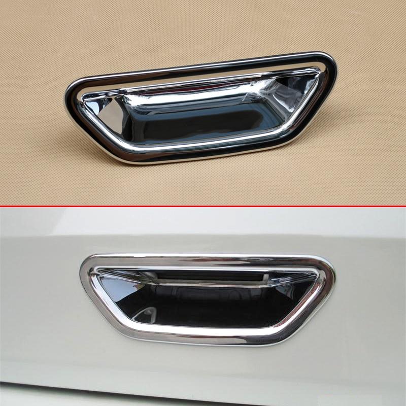 Накладка на заднюю дверь багажника для Nissan X-Trail Rogue T32 2014-2019 XTrail Глянцевая хромированная защита аксессуары