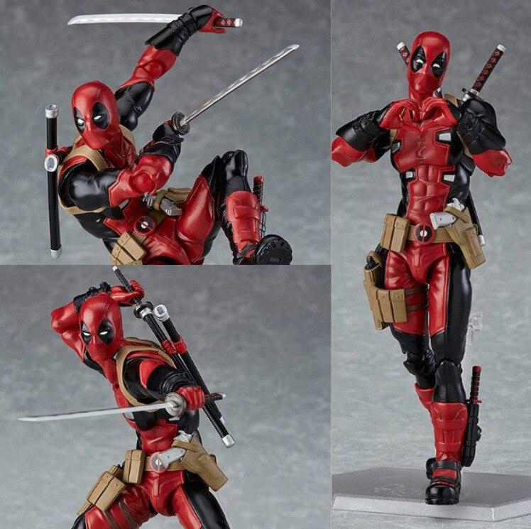Новинка хит 15 см Дэдпул супер герой X-Men фигурка игрушки коллектор Рождественский подарок кукла с коробкой