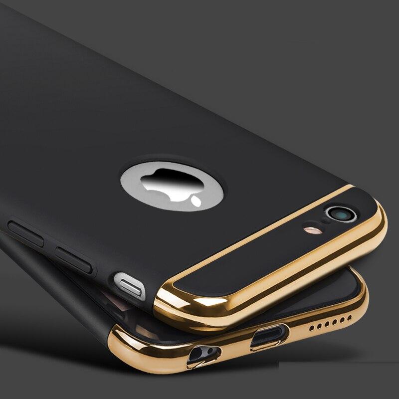 Para iphone 6S 6 6 s funda protectora de teléfono móvil funda coque + funda protectora ultra delgada para iphone 7 7 plus funda carcasa