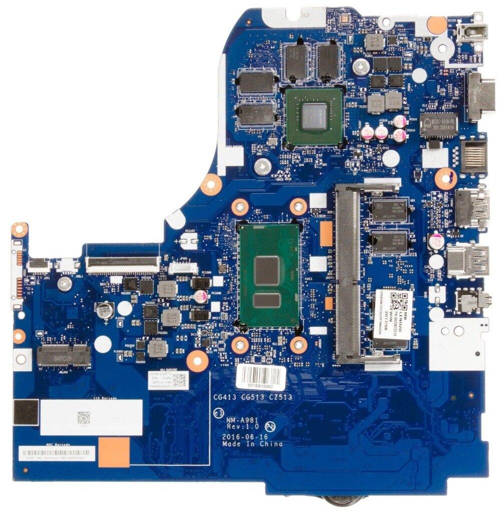 Para Lenovo IdeaPad 310-15IKB ordenador portátil placa base CG413 NM-A981 4GB RAM i5-7200U 920MX prueba de 100% ok