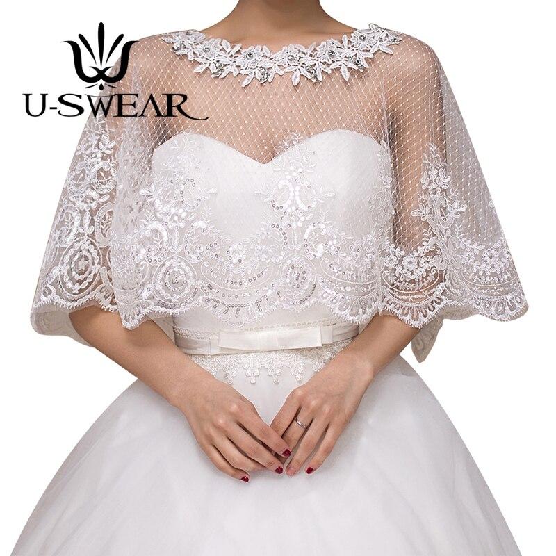 Recién llegadas, chaquetas de boda para mujer, con flores y borde de encaje, blanco, elegante, con apliques, chal nupcial para mujer, Bolero