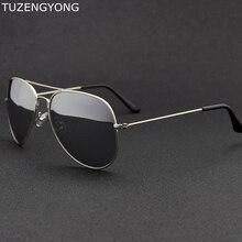 Cadre en alliage classique femmes marque lunettes de soleil design pilote polarisé hommes lunettes de soleil uv400 oculos de sol lunettes pour homme