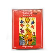 Jeu de société de Tarot espagnol jeu de cartes de haute qualité jeu de Tarot avec Instructions dédition anglais/français/espagnol