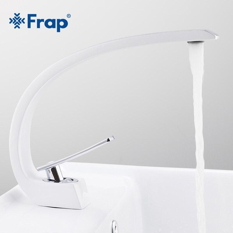 Смесители для раковины Frap Y10124, белый кран для ванны, смесители для раковины