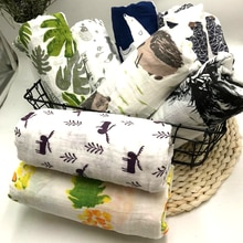 100% cotton muslin baby blanket swaddle wrap for newborn better soft babies blankets bedding bath towel swaddling 120*120cm