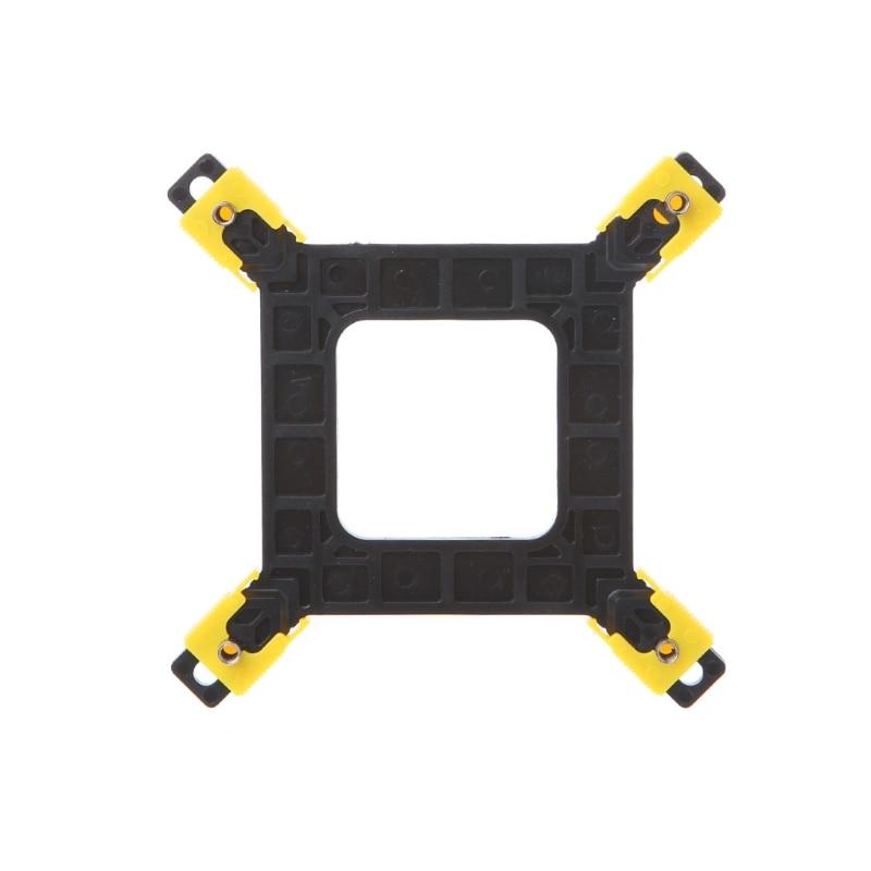 1 pc multi-plataforma 775/1155/1156/1366 cpu backplane desktop suporte cooler suporte ventilador de refrigeração quente alta qualidade