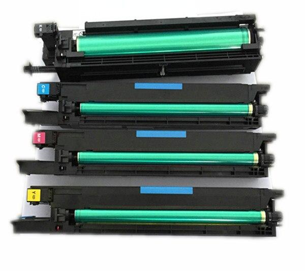 4 pc x 1 conjunto unidade de imagem do cilindro para konica minolta c452 c552 c652 cmyk