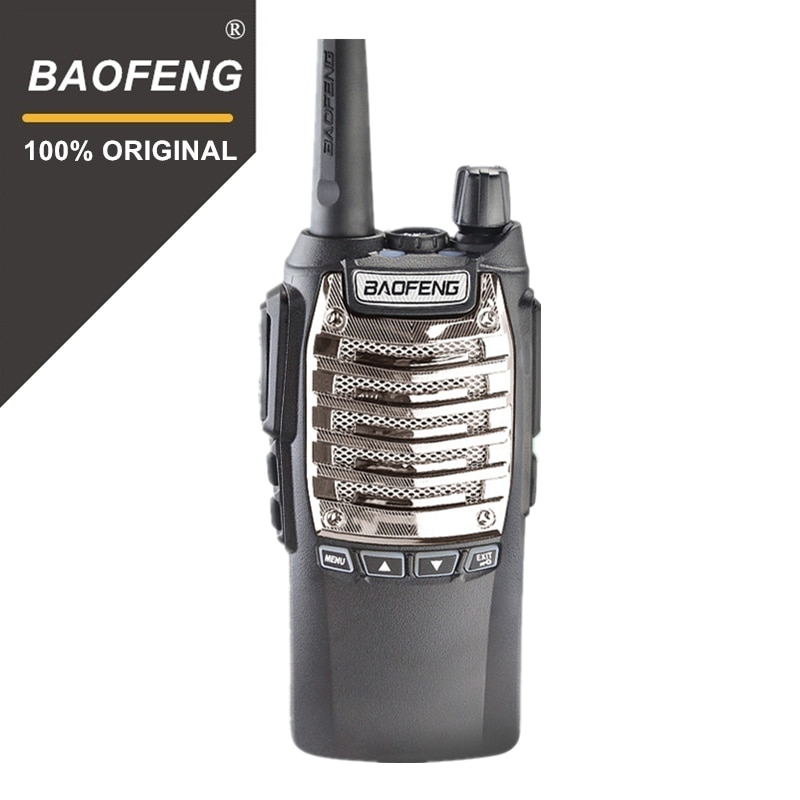 Baofeng 100%-Walkie Talkie Original, 8W, manos libres, UV-8D KM, UHF 400-480MHz, Radio portátil, Comunicador UV8D, UV-8 de interfono
