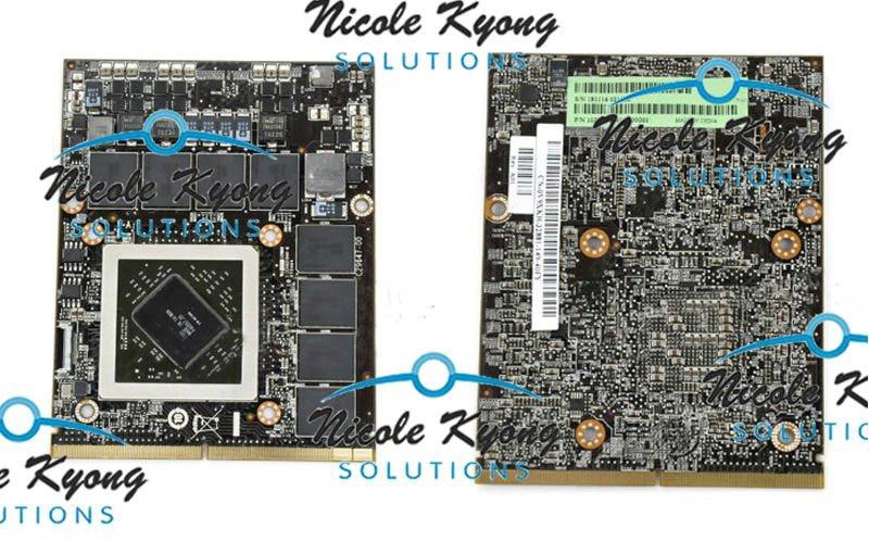 V9XKH 109-C29647-00 HD 6970M RDRGR 109-C29657-10 HD 6990M 2G GDDR5 SLI ميناء VGA بطاقة فيديو لديل M17x R3 R2 M18X M6600 M8900