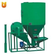 1000kg/h Vertical Animal feed crushing and mixing machine