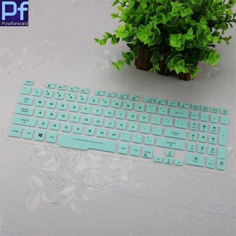 "Funda de teclado de silicona para ordenador portátil capa protectora para Asus ROG Zephyrus M 501G 15,6 ""GM501 GM501GS GM501GM gm501g GU501GM GU501 GU"