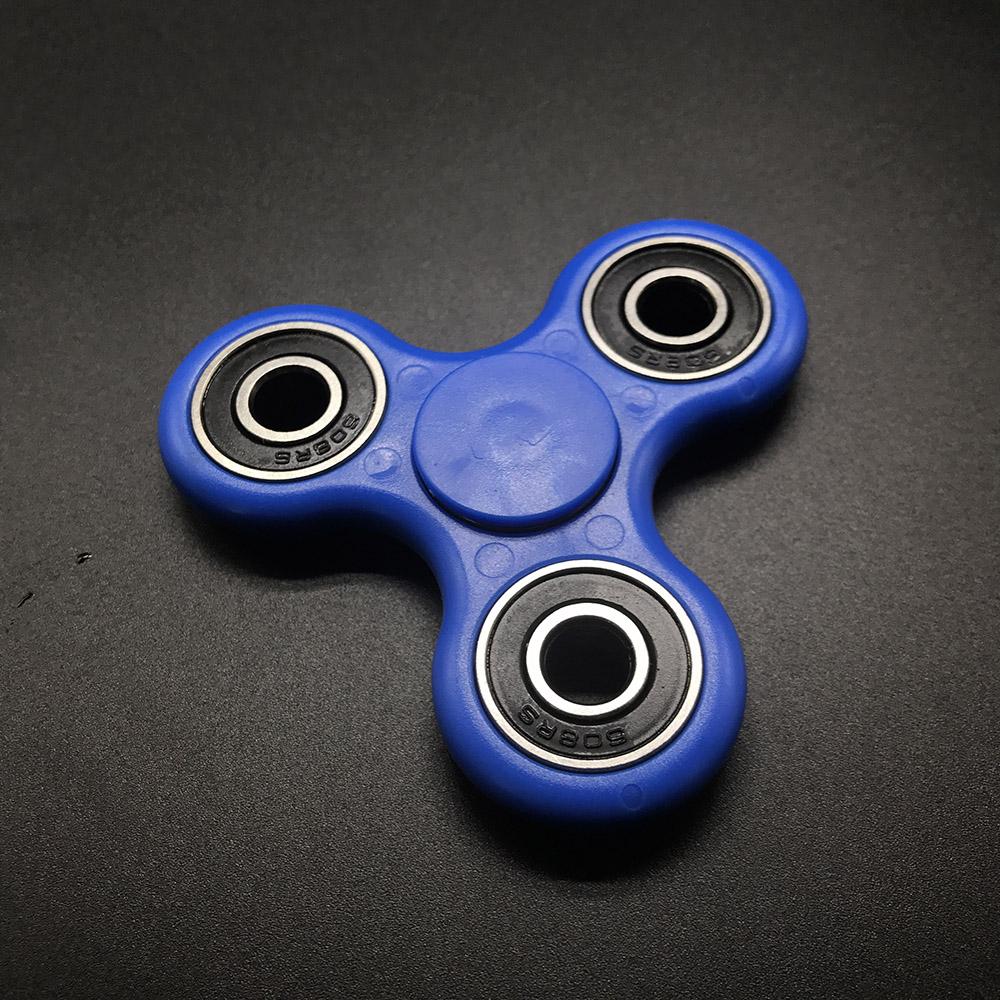 7 Kolory Koraliki Ceramiczne EDC Tri-Spinner Z Tworzywa Sztucznego Ręcznie Fidget Spinner Spinner Dla Autyzmu i ADHD Długi Czas Anty stres Zabawki 4