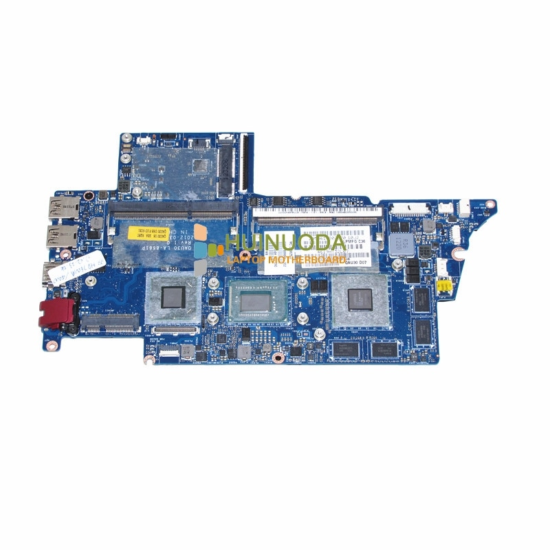 689844-001 QAU30 LA-8661P placa base para portátil hp ENVY4 ENVY6 693234-001 intel SR0N8 i5-3317U cpu placa base garantía 60 días