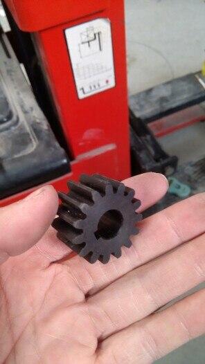 Pinhão 2 m 15 t 2 mod engrenagem cremalheira 15 dentes furo 12mm keyway 4mm 45 aço cnc rack e pinhão