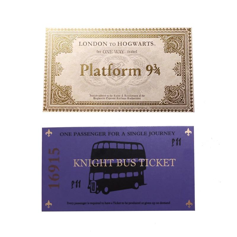 1 pièces Harry film londres Express réplique billet de Train 1 pièces