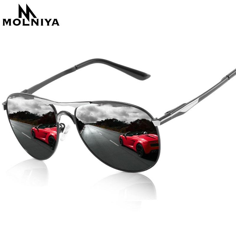 MOLNIYA 2019, gafas de sol de calidad mejorada para hombres, gafas de sol polarizadas para conducir, gafas de sol UV400, gafas de sol para hombres