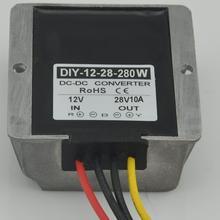 Module de convertisseur régulateur dalimentation 12V(9-28V)   Convertisseur de courant 12V(9-28V), élévateur 28V 10A 280W 10 pièces