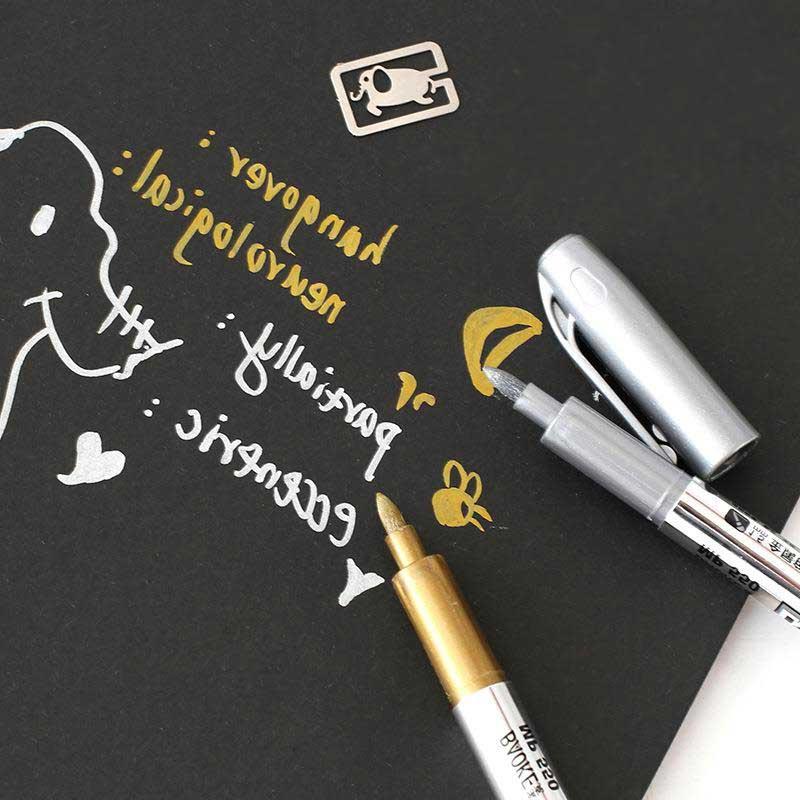 oro-argento-penna-a-sfera-tecnologia-della-penna-della-vernice-di-colore-del-metallo-della-decorazione-artigianato-artigianato-di-arte-pittura-metallico-tessuto-marker-penne-cancelleria