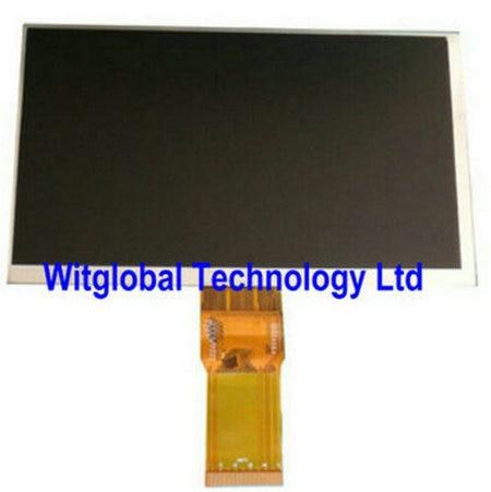 "New LCD Matrix For 7 ""Prestigio Smartkids PMT3997 Smart kids PMT3997_w_d v2.0 Internal LCD Replaceable Screen Module"