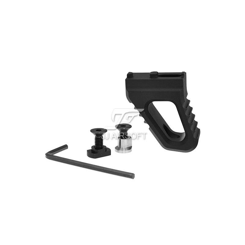MF ручной стоп/ручной стоп Foregrip для KeyMod & M-LOK MLOK CNC версия легкая (черный/красный/коричневый/серебристый)