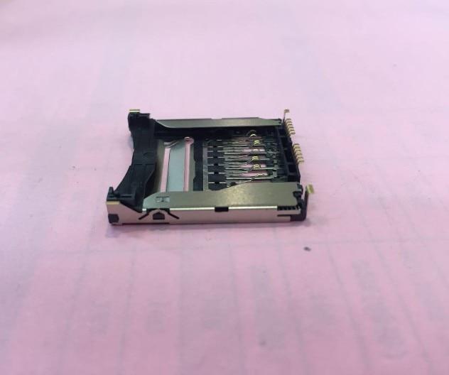 Nuevo ensamblaje de ranura de tarjeta SD de memoria para Canon 750D 760D Kiss X8i T6i DS126571 unidad de repuesto de cámara pieza de reparación