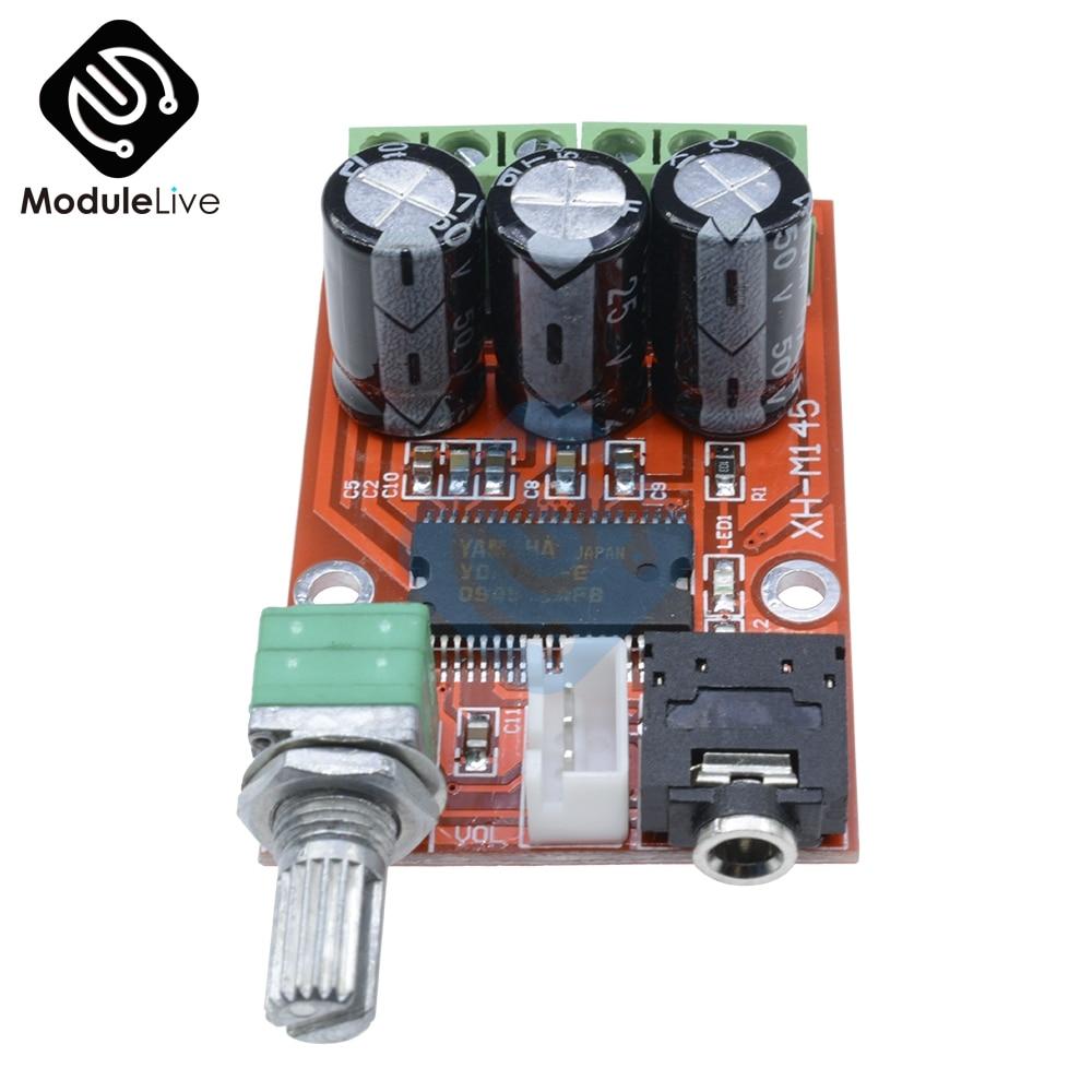 YDA138-E YAMAHA 12W + 12W Dual Canal Digital Placa de amplificador de audio DC 12V GM