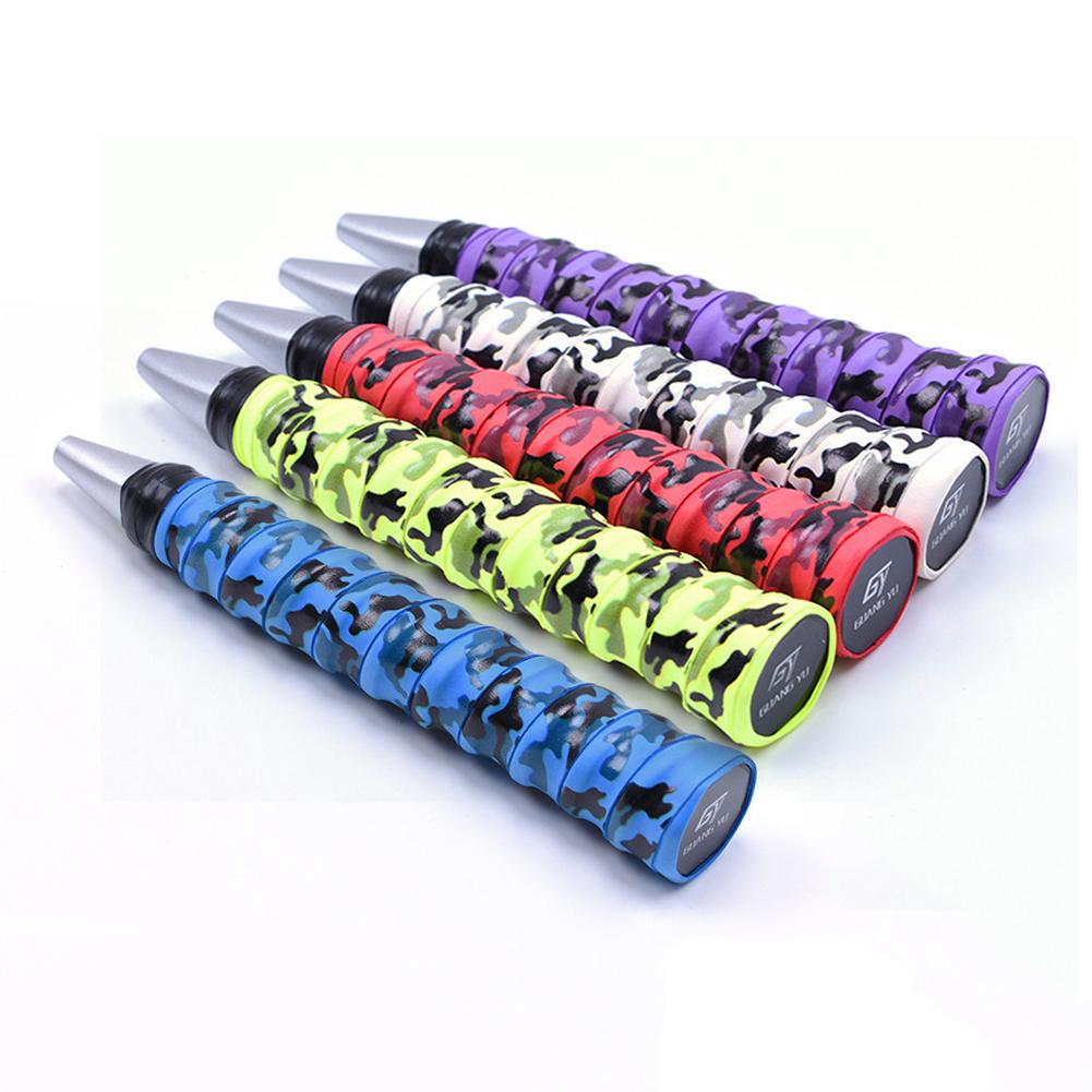Mango de raqueta, cinta bobinadora, doble sujeción de quilla, banda de absorción, correa de mango de raqueta antideslizante, cinta de pesca, cinta bobinadora