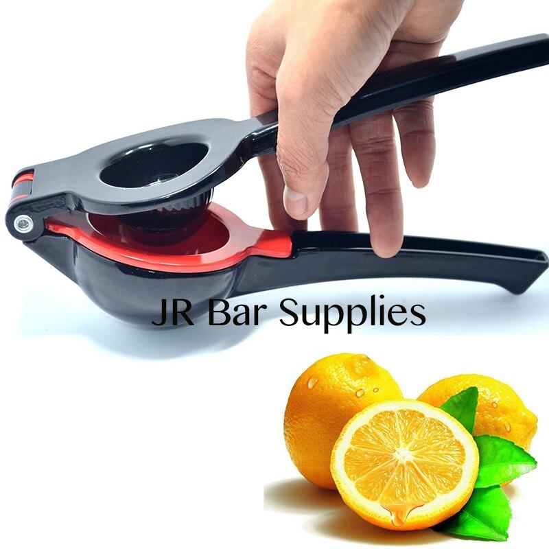 Exprimidor Manual PROFESIONAL Premium limón Lima naranja y exprimidor de cítricos diseño único 2 tazones incorporados en 1 de alta resistencia