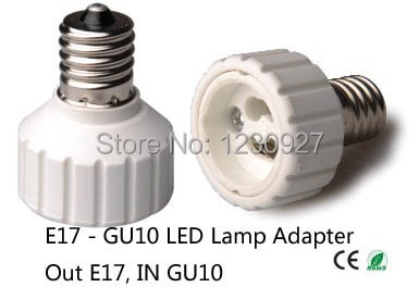 E17 ila gu10 soket adaptörü led aydınlatma lamba tutucu dönüştürücü