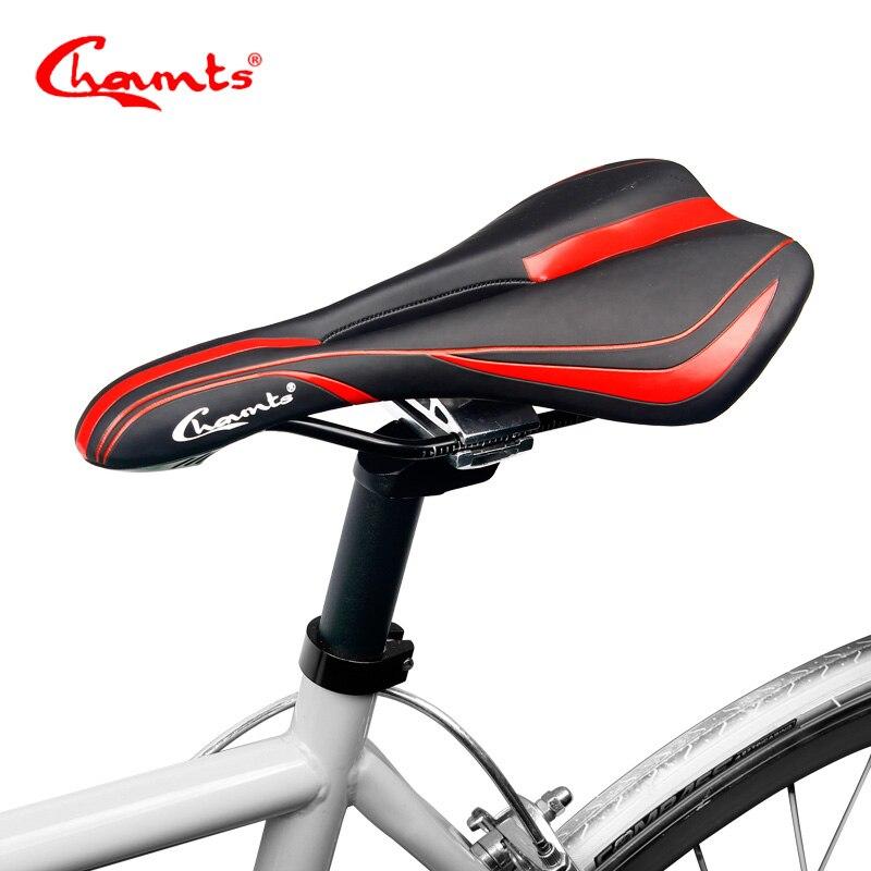 Chaunts 2017 Bicycle Saddle MTB Mountain Road Bike Seat Comfortable Soft Cushion Road Cycling Breathable Gel Saddle Bike