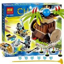 115pcs Bela 10080 Banana Bash assembling Model Building Blocks Toys For Children Boys Compatible with Lago