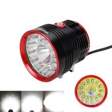 Helle LED Lampe 3 Modi Fahrrad Licht 30000lm 14x XML T6 LED Fahrrad Scheinwerfer Fahrrad Front Licht Kopf Taschenlampe für radfahren