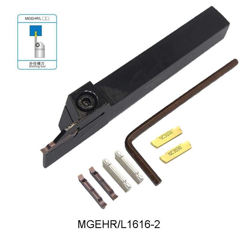 MGEHR1616-2 MGEHL1616-2 MGEHR 1616 2 externo ranurado torneado herramienta de ranurado herramienta para MGMN200 MGMN 200 inserciones