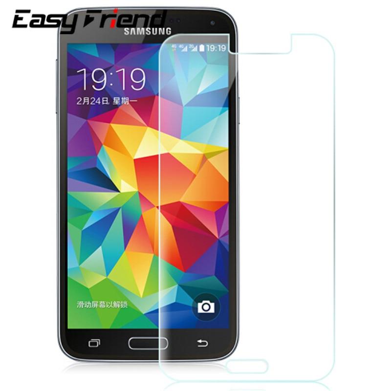 Vidrio templado para Samsung Galaxy S5 S5 Active mini G870 i9600 G800F G800F G900F G9006 Protector de pantalla