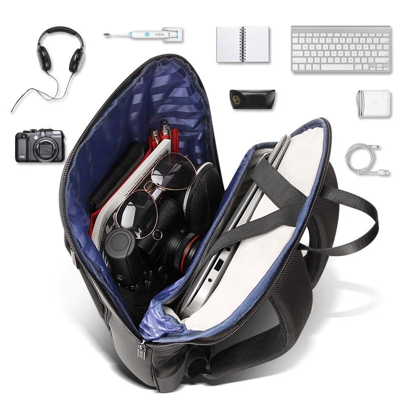 Ransel komputer riba ramping 15.6 inci pejabat kerja beg perniagaan - Beg galas - Foto 4